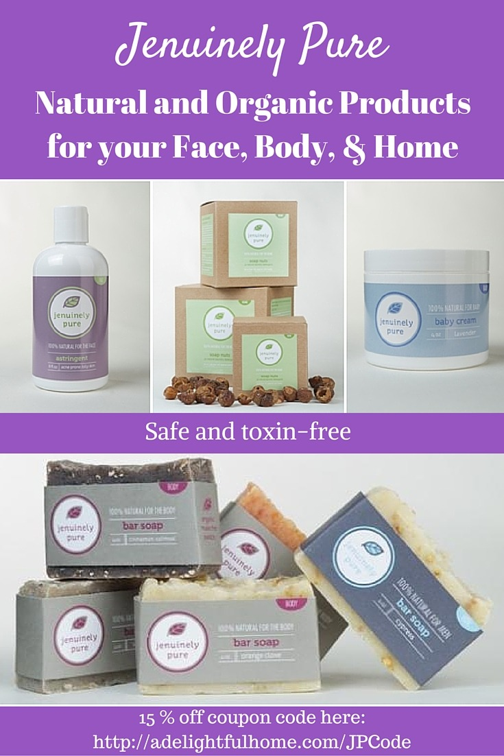 Natural Beauty Spotlight: Jenuinely Pure | aDelightfulHome.com