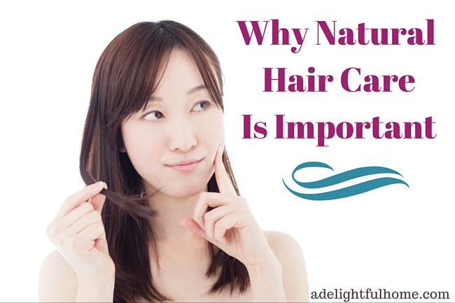Why Natural Hair Care is Important (& My Struggle to Find Effective Products) | aDelightfulHome.com