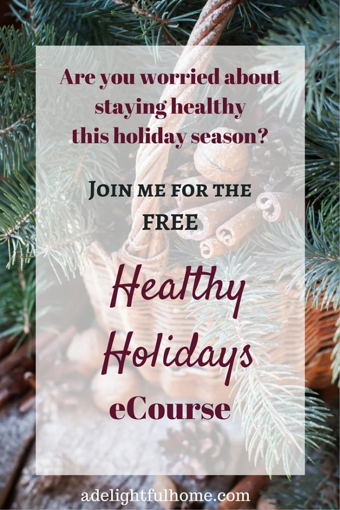 Healthy Holidays - FREE eCourse