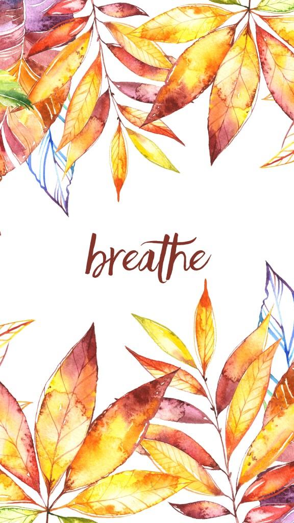 breathe - fall leaves