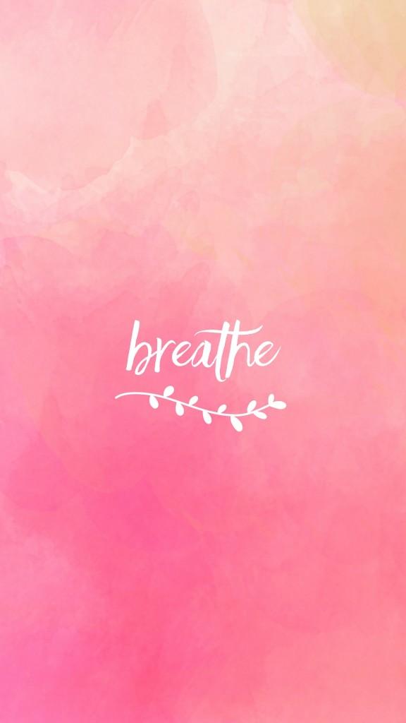 breathe pink