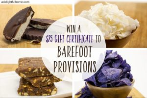 Barefoot Provisions Giveaway!