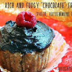 "Rich and Fudgy ""Chocolate"" Frosting (Paleo, Autoimmune Protocol) 
