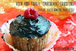 """Rich and Fudgy """"Chocolate"""" Frosting (Paleo, Autoimmune Protocol)"""