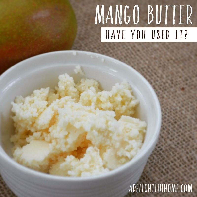 How to Use Mango Butter | aDeligtfulHome.com