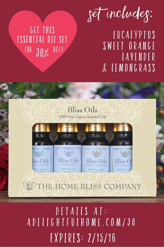 Bliss Oils - Essential Oil Set