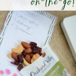 Healthy Snack Tips for When You're on the Go (& Giveaway!)
