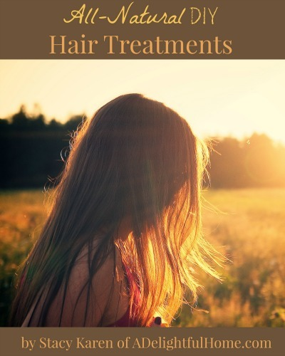 Natural DIY Hair Treatments