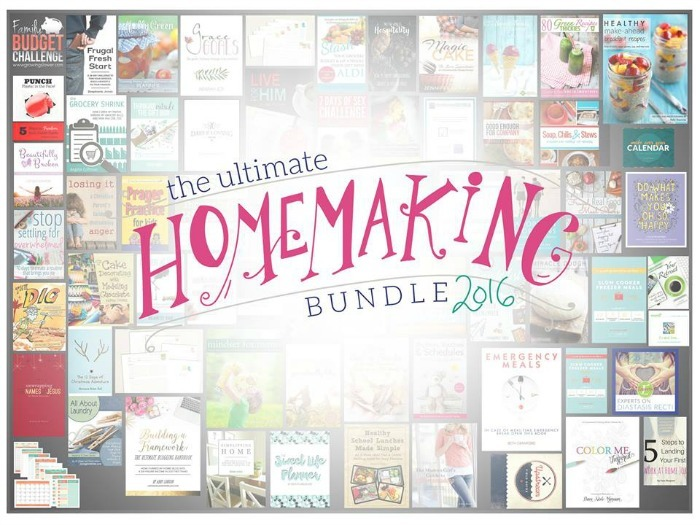 homemaking bundle ends today