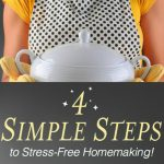 Stress-Free Homemaking {FREE Gift for You}