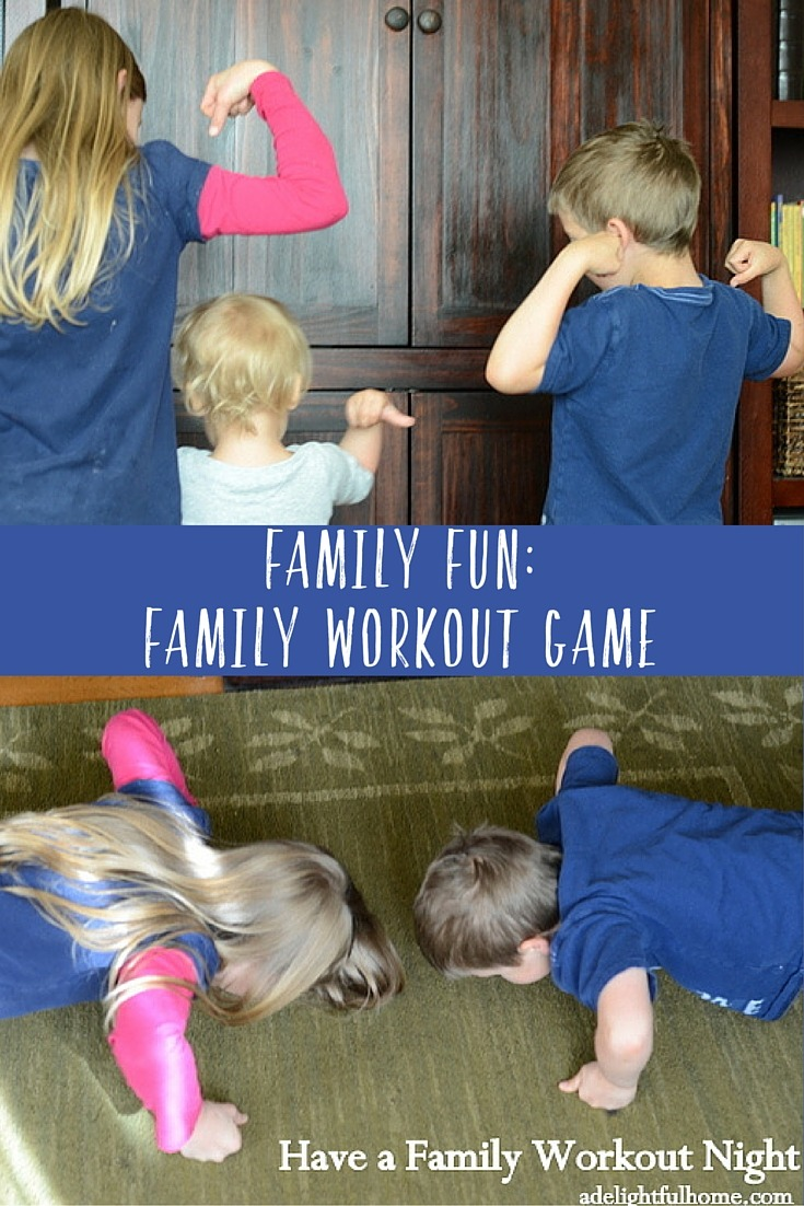Family Fun- Family Workout game
