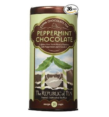 choc peppermint tea
