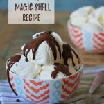 Magic Shell Recipe – Two-Ingredient Ice Cream Topping