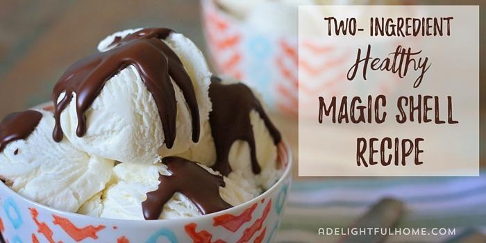 2-Ingredient Magic Shell Recipe