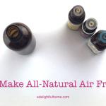 DIY Air Freshener Spray Recipe (with Video)
