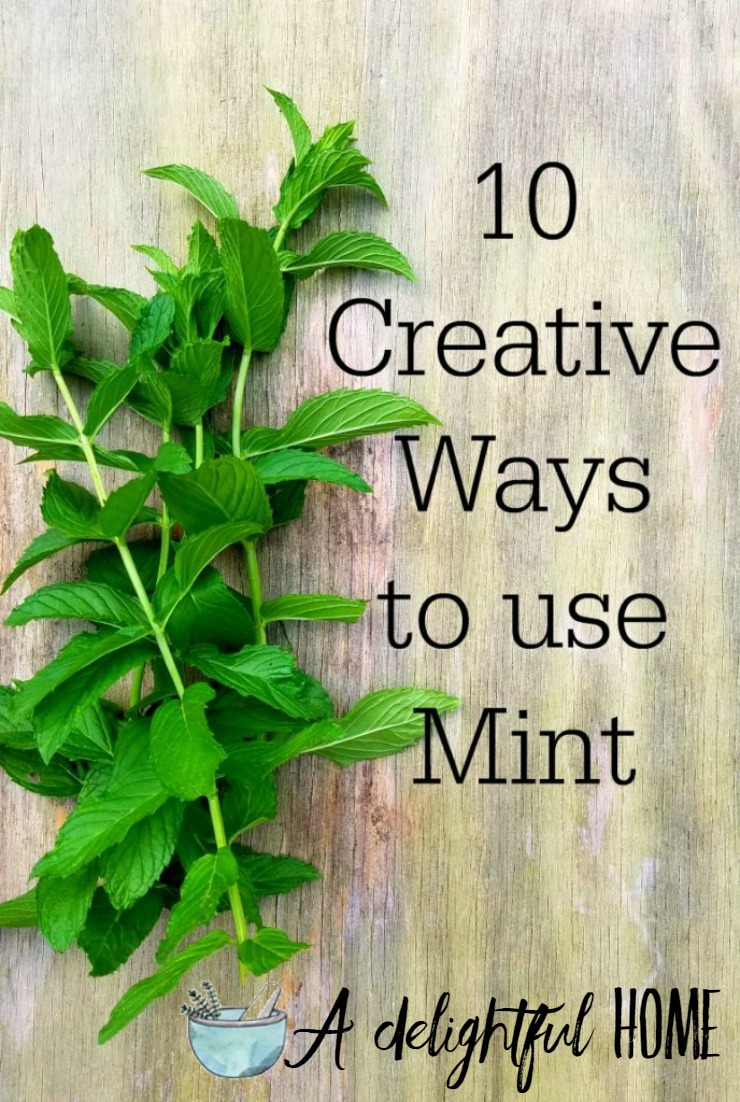 10 Creative Uses for Mint | aDelightfulHome.com
