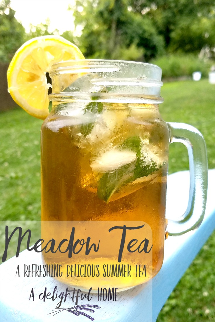 Meadow Tea a Refreshingly Delicious Summer Drink | aDelightfulHome.com