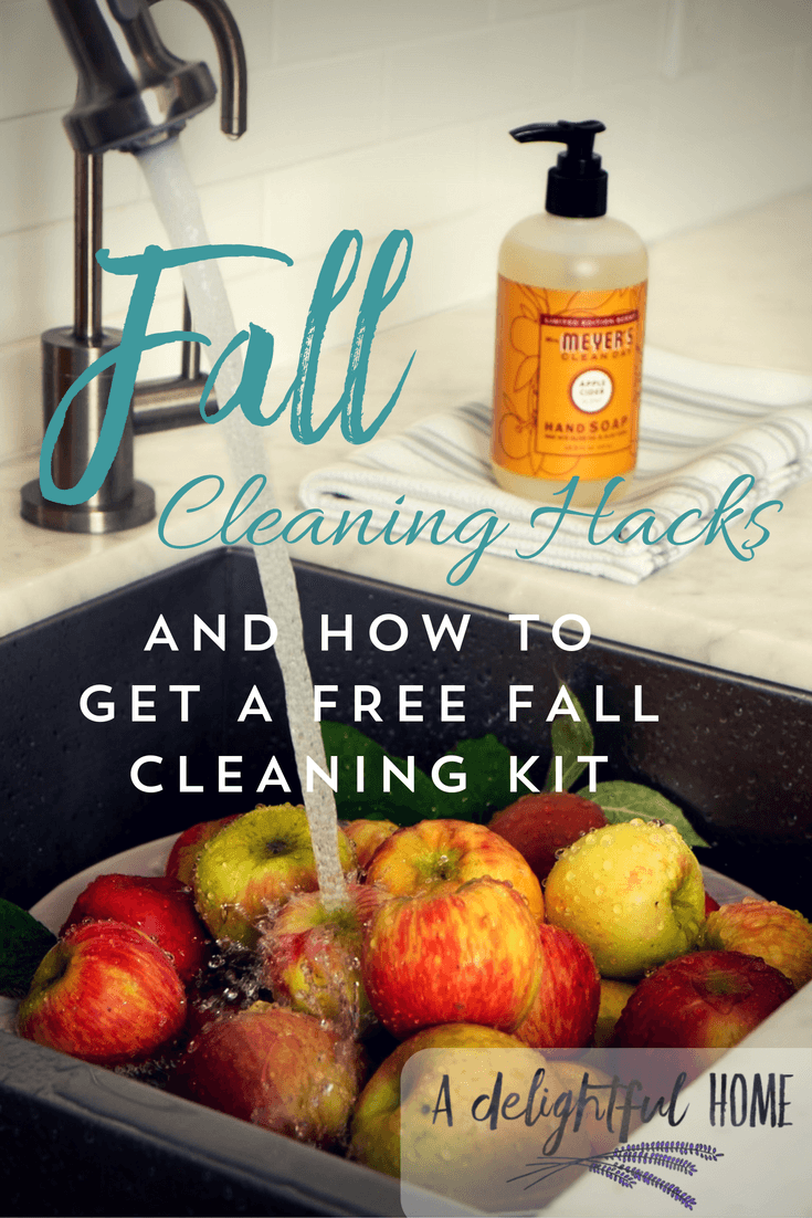 Fall Cleaning Hacks & How You Can get a FREE Fall Cleaning Kit | aDelightfulHome.com