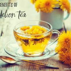 Health Benefits of Dandelion Tea | aDelightfulHome.com