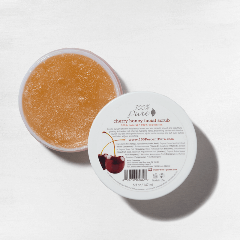 cherry-honey-facial-scrub