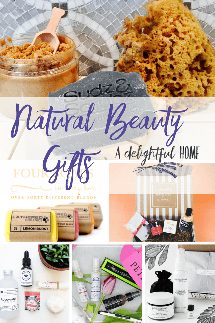How to Find Uniquely Natural & Healthy Beauty Gifts with Subscription Boxes | aDelightfulHome.com