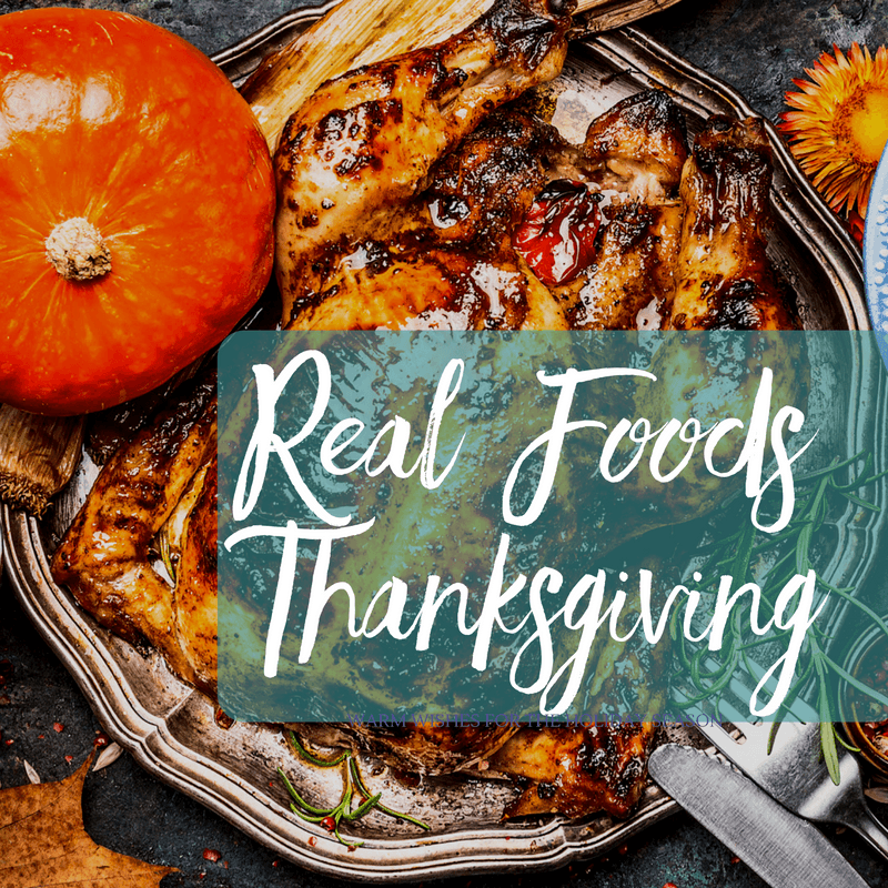 25+ Healthy Real Foods Recipes for Thanksgiving | aDelightfulHome.com