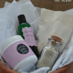 How to Make a Bath & Body Gift Basket in 30 Minutes or Less