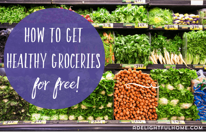 Healthy Groceries for Free