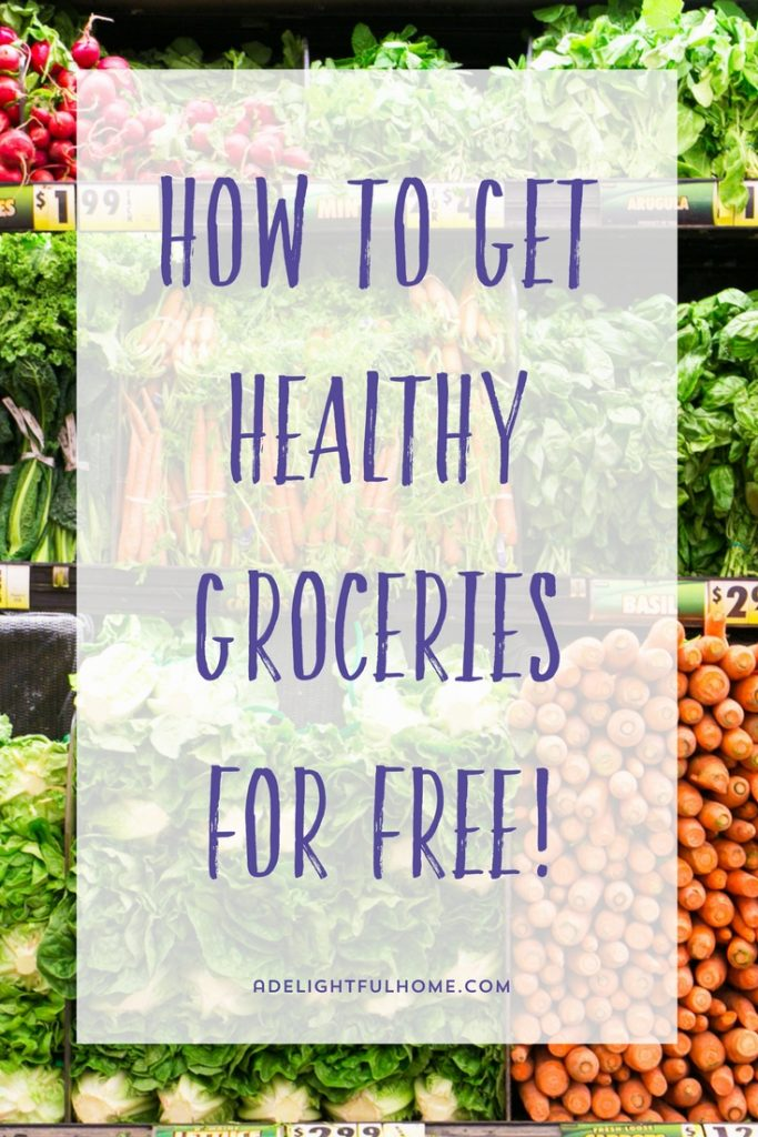How to Get Healthy Groceries for Free