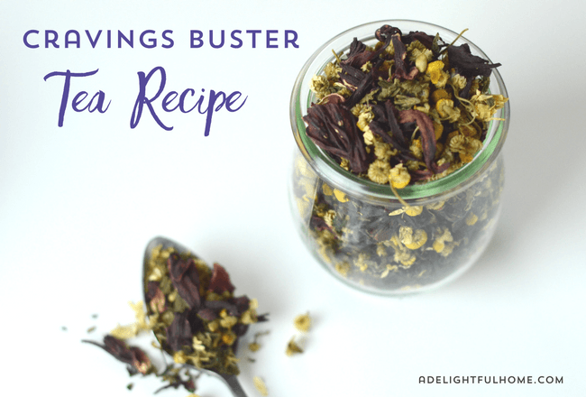 cravings buster tea recipe