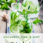 Cucumber, Lime & Mint Water Recipe