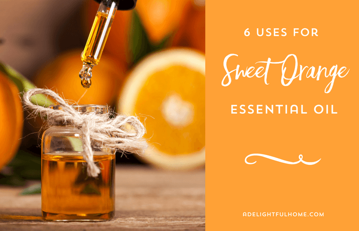 Uses Sweet Orange Essential Oil