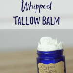 How to Make Whipped Tallow Balm