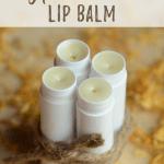 All-Natural Homemade Lip Balm Recipe