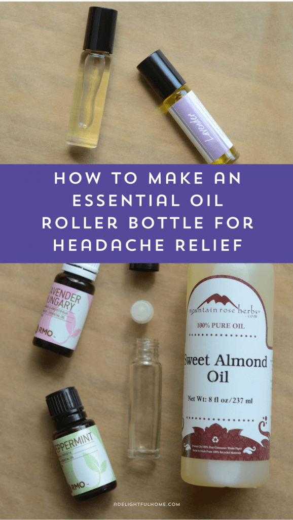 how to use essential oils for headache relief