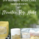 Why I Love Mountain Rose Herbs for DIY Ingredients