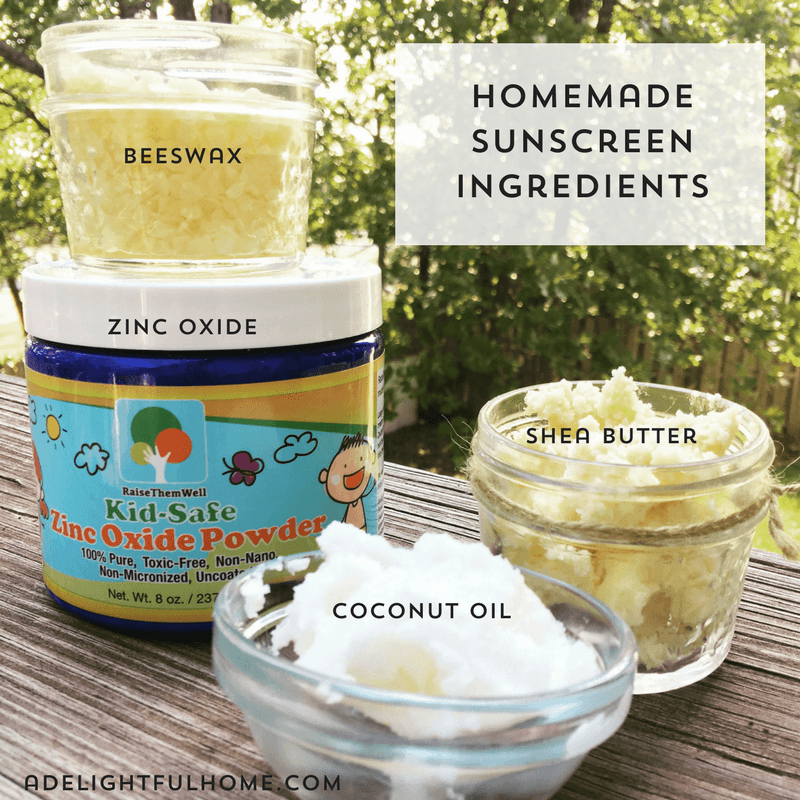 All-Natural Homemade Sunscreen Recipe