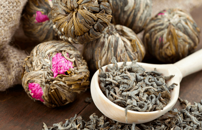 flowering tea balls