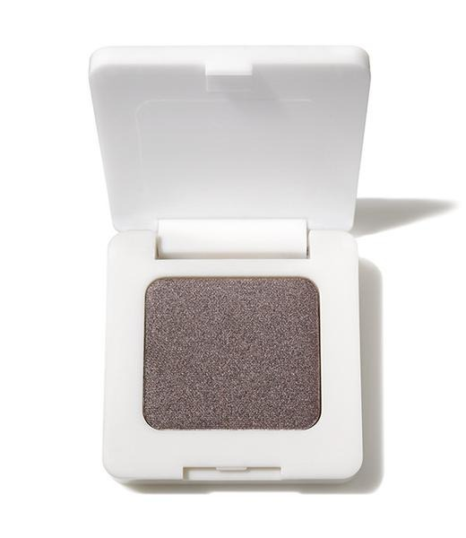 single grey eyeshadow in white container