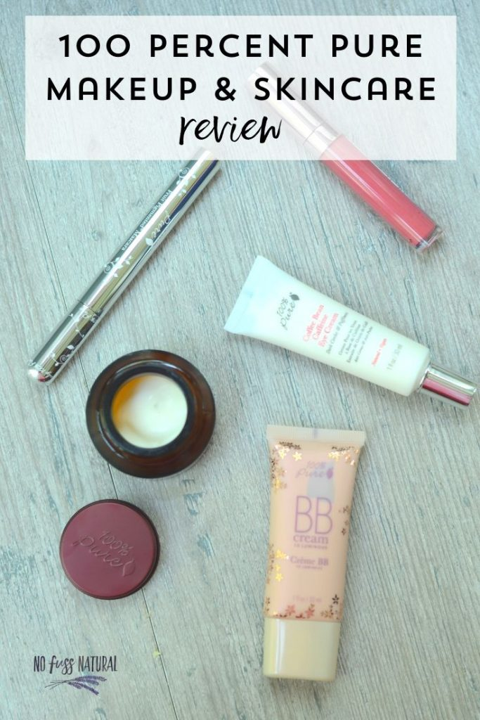 non-toxic skincare and makeup collection