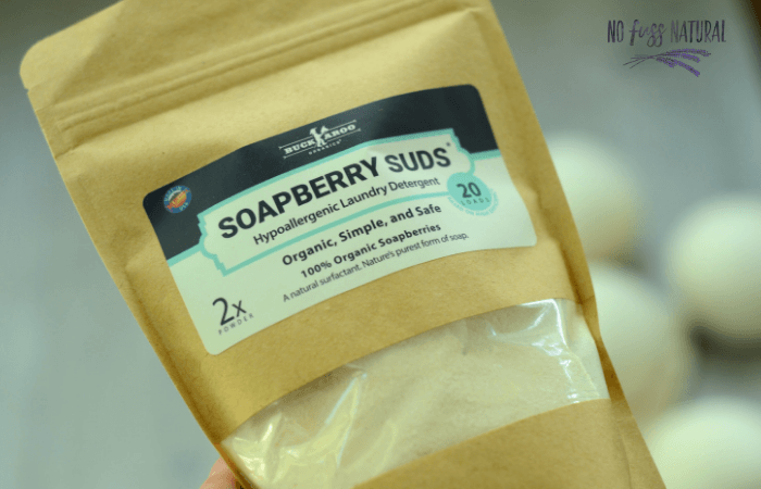bag of soapberry suds