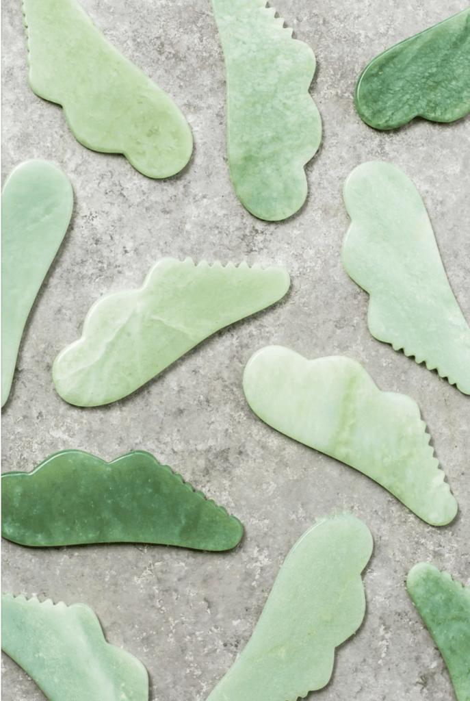 primally pure jade gua sha stones