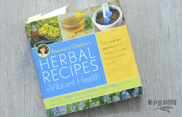 Rosemary Gladstar herbal recipes for vibrant health book