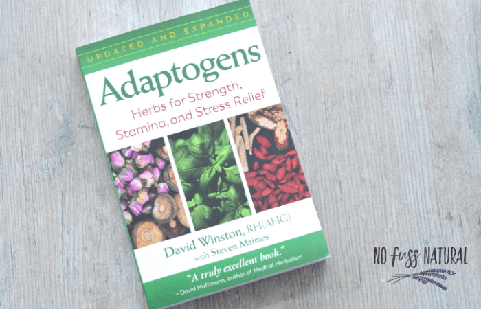 Adaptogens book by David Winston