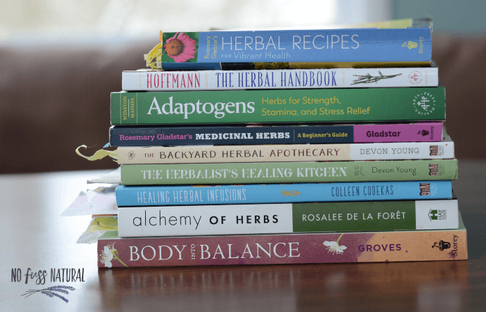 herbal books for beginners
