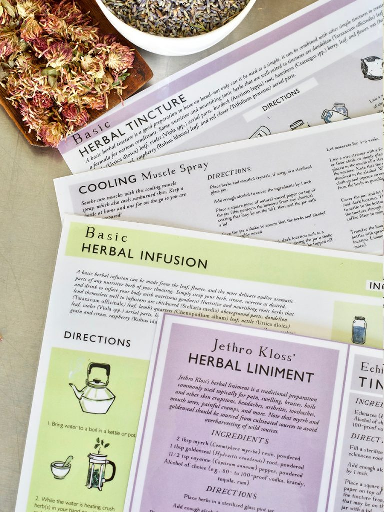 herbal preparations reference guides